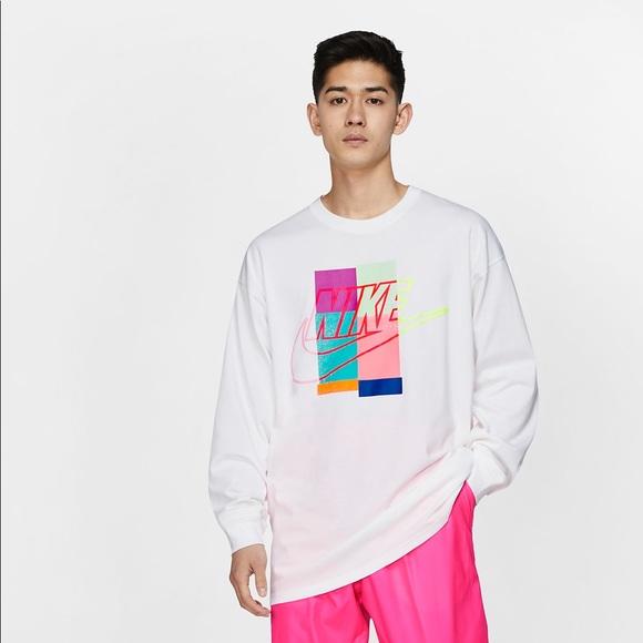 Nike x Atmos Men's Long Sleeve T shirt NWT